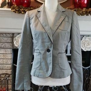 Loft gray blazer, good condition